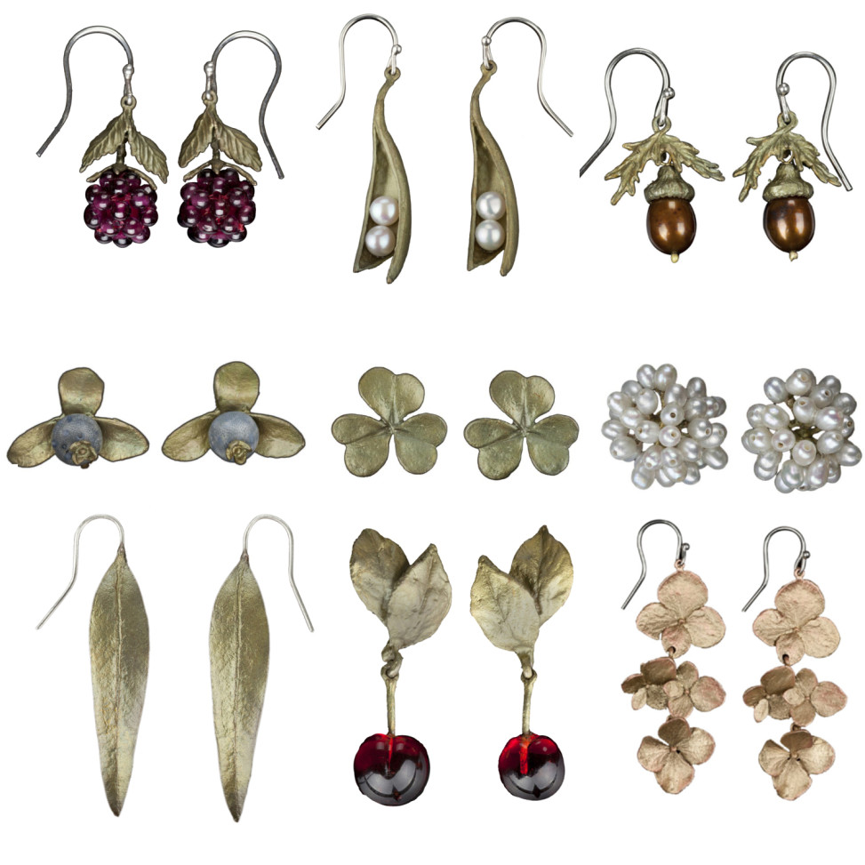 All Earrings Collage